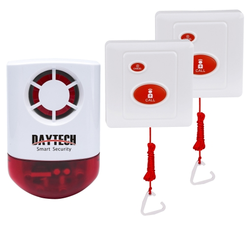 New Loud Outdoor Wireless Flashing Strobe Siren Alarm Systems Ideal for Business and Home Protection